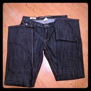Banana Republic 12S  Dark Wash Boot Cut Jeans